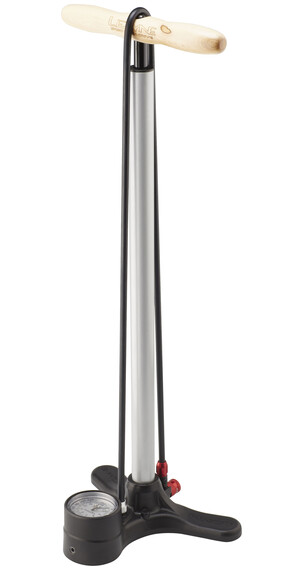 Lezyne Sport Floor Drive fodpumpe sølv